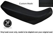 BLACK AUTOMOTIVE VINYL CUSTOM FITS HONDA XR 250 400 96-04 SEAT COVER ONLY