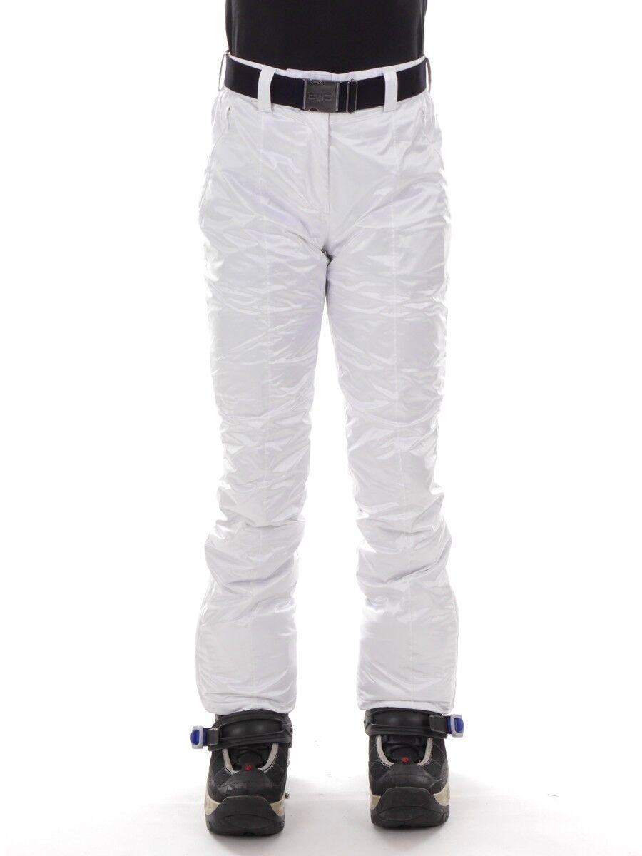 CMP Snowboardhose Skihose Schneehose white Gürtel ClimaPredect