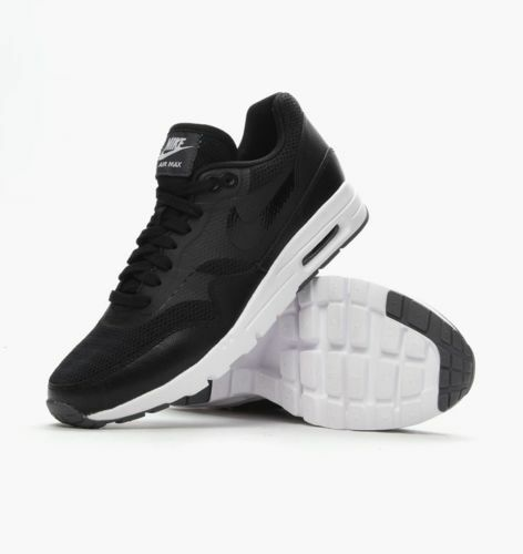 Damenschuhe NIKE AIR MAX 1 ULTRA - ESSENTIALS TRAINERS - BLACK/Weiß - ULTRA UK 4.5, 5.5, 6 6db523