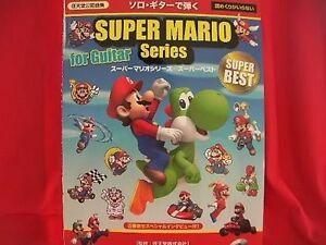 Super Mario Series guitar 34 sheet music book w/CD | eBay