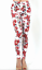 Zenana Outfitters Basic Stretch Cotton Jersey Ankle Length Leggins S Floral