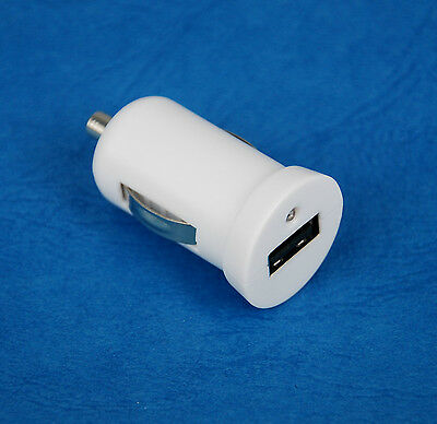 5V 2A Fast Car Charger WHITE for Samsung Galaxy TabPRO Tab PRO 12.2 LTE SM-T900