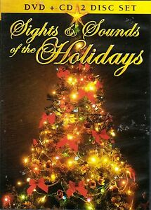 Christmas Scenes Images.Details About Sights Sounds Of The Holidays Virtual Christmas Scenes Music Dvd Cd Combo