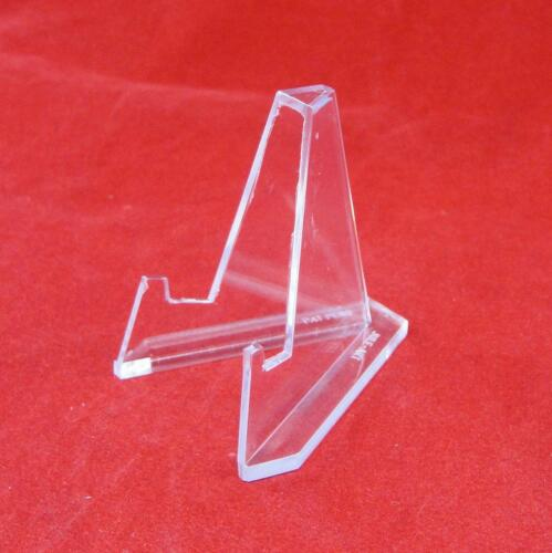 Small Plus Size Acrylic Display Stand Easels 5 Count