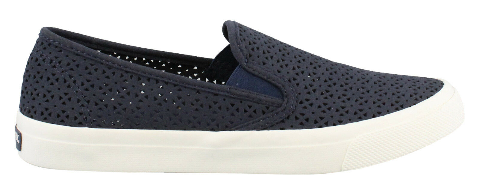 NIB Sperry Top-Sider Wouomo Seaside Perf Nautical Boat sautope Navy blu Sz 8 -10