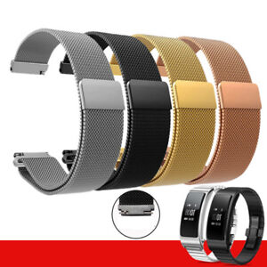 For-Huawei-Talkband-B5-Watch-Stainless-Steel-Magnetic-Wrist-Watch-Strap-Band-US