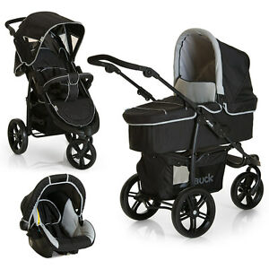 hauck kinderwagen jogger 3 in 1 set viper slx trio grau. Black Bedroom Furniture Sets. Home Design Ideas