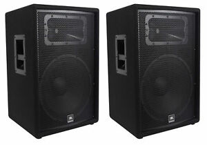 2 jbl pro jrx215 15 2000w professional passive pa dj speakers 8 ohm jrx 215 613815834748 ebay. Black Bedroom Furniture Sets. Home Design Ideas