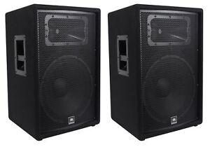 2-JBL-Pro-JRX215-15-034-2000w-Professional-Passive-PA-DJ-Speakers-8-Ohm-JRX-215