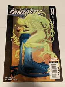 Ultimate Fantastic Four #34 November 2006 Marvel Comics Carey Ferry