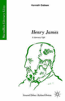1 of 1 - Henry James: A Literary Life: A Literary Life by Graham, Kenneth -Paperback