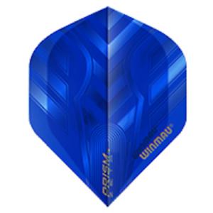 WINMAU PRISM ZETA STANDARD SHAPE FLIGHTS BLUE