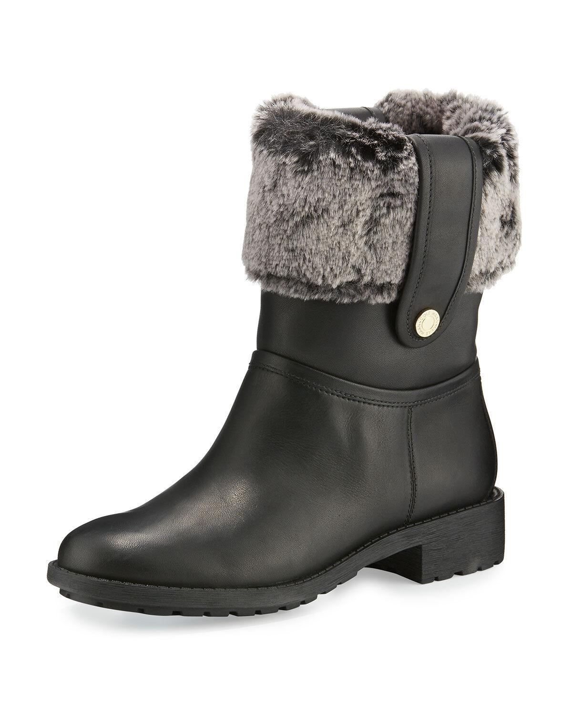 con il prezzo economico per ottenere la migliore marca Cole Hann Donna  Waterproof Leather Breene Faux-Fur avvio, avvio, avvio, nero, US 7 B  risparmia fino al 70%