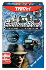 Ravensburger 23416 Scotland Yard Travel gioco TASCABILE da VIAGGIO