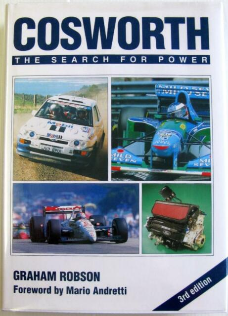 COSWORTH THE SEARCH FOR POWER (THIRD EDITION) Graham Robson ISBN:1852605030