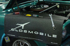 Black Oldsmobile car mechanics fender cover paint protector vintage style