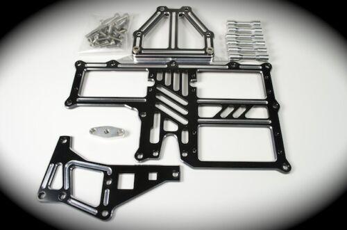 MCD Quick Release Servo Tray set  for Older MCD Racing car By Jofer USA Raw Alum