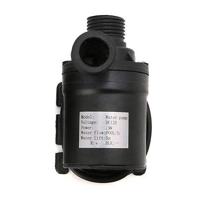 800L/H 5m DC 12V/24V Solar Brushless Motor Water Circulation Water Pump
