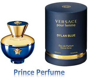 Detalles de VERSACE POUR FEMME DYLAN BLUE EDP NATURAL SPRAY 100 ml