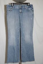 American Eagle Outfitters Favorite Boyfriend Stonewashed Distressed Jeans Size 8