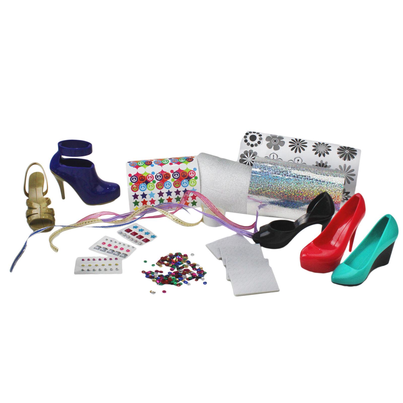 Girls Shoe Design Play Set Crayola Hot Heels Kids Fashion Sticker Art Kit 5 Pack For Sale Online