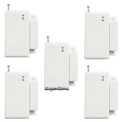 5pcs/lot Wireless Door Sensor for Wireless GSM Home Security Alarm System 433Mhz