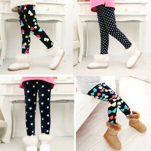 96cdc9718b36d Image is loading Children-Winter-Warm-Trousers-Thick-Velvet-Leggings-Kids-