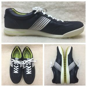 3a1e9bdc495 ECCO HYDROMAX Men Size EU 45  US 11.5 Fashion Sneakers Black Leather ...