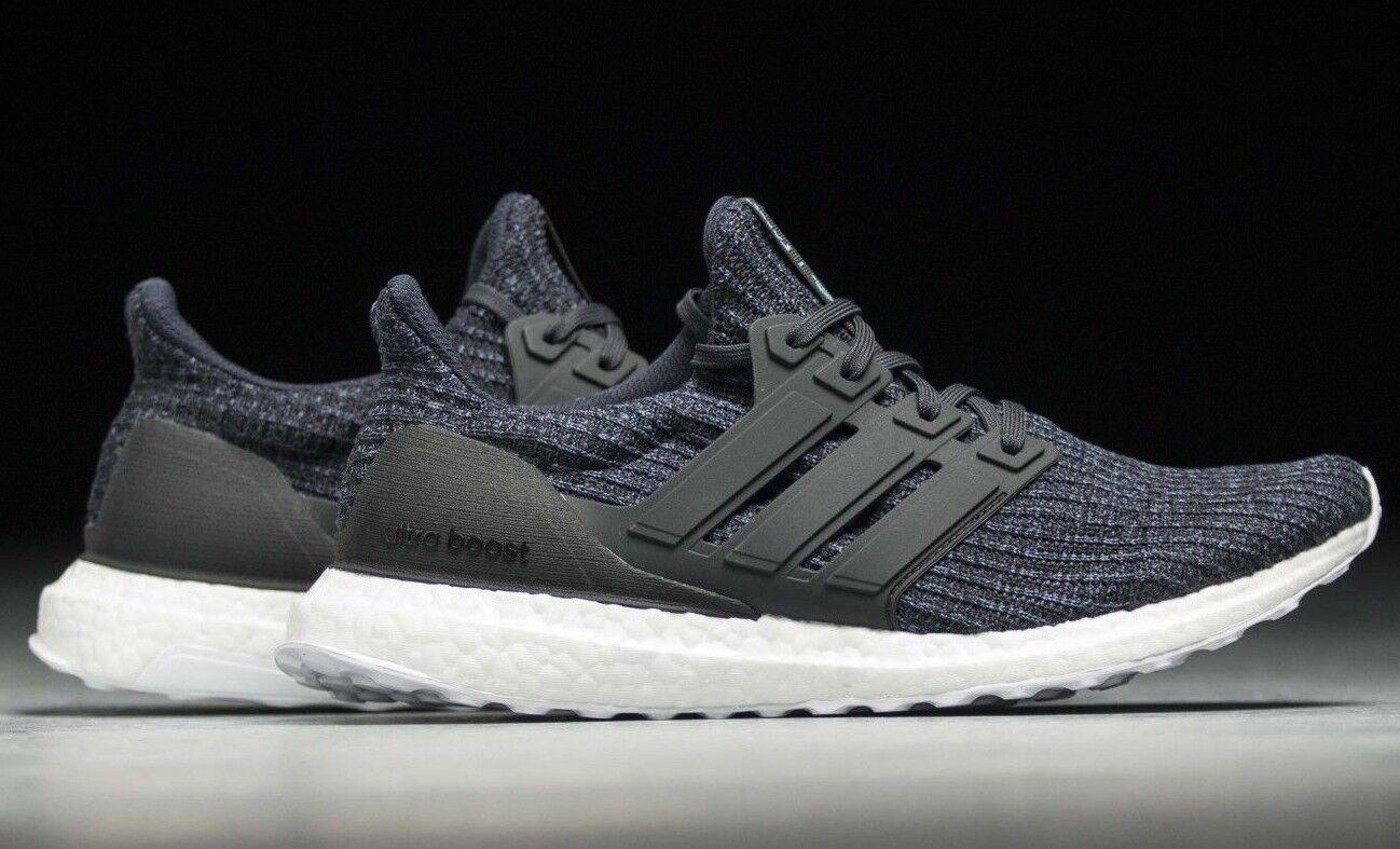 Adidas Ultra Boost Parley Acolchado Negro para Hombre Correr Gimnasio Zapatillas Zapatos 12