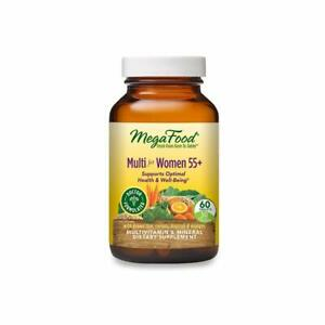 MegaFood Multi for Women 55+ - Supports Optimal Health & Well-Being - 60 Count