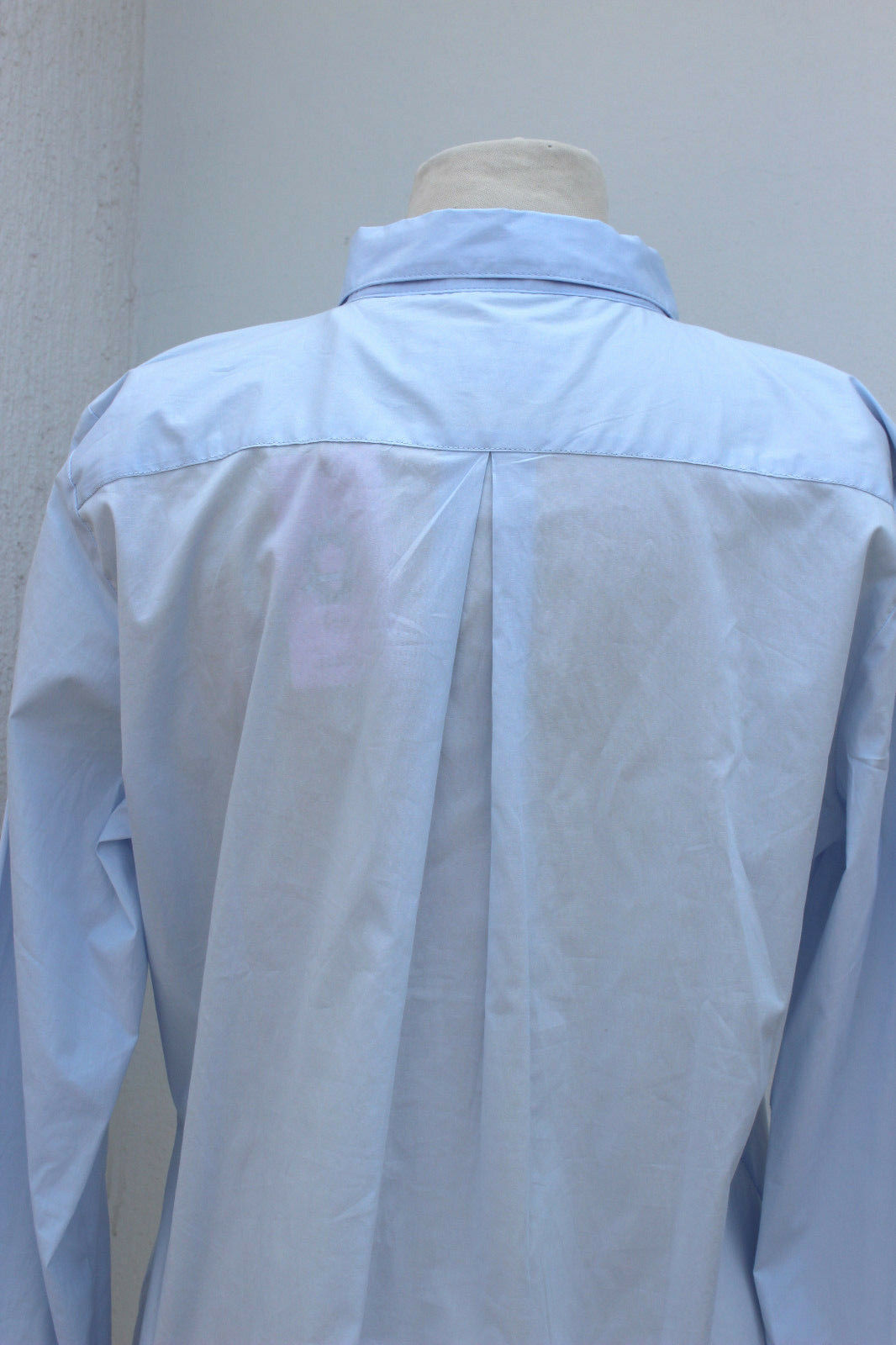 Emily Van den Bergh Bergh Bergh Camicia da Donna Camicia Blusa baumwollbluse Blu Toni Classico f59fe0