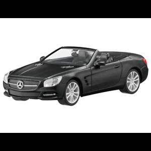 Mercedes-Benz-Modellauto-1-87-coche-Roadster-SL-R231-negro-B66960101