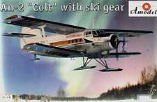 Amodel 1/144 Antonov An-2 Colt with ski gear # 1436