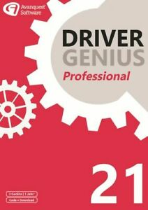 Driver Genius 21 Professional - 3 Geräte / 1 Jahr, Download, Windows