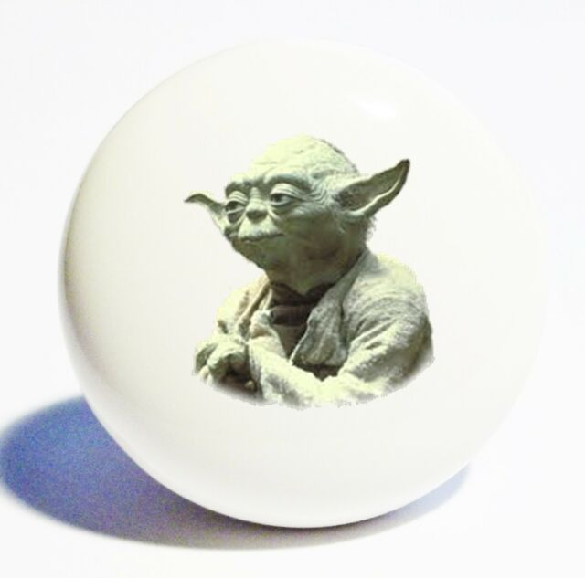 STAR WARS YODA HOME DECOR CERAMIC KITCHEN  KNOB DRAWER CABINET PULL