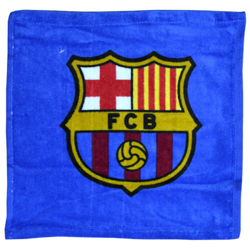 FC BARCELONA WASCHLAPPEN FACE CLOTH