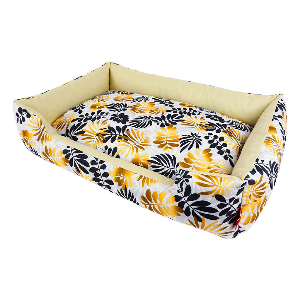 Waterproof dog bed, washable dog sofa.Leaves pet sleeping with removable covers.