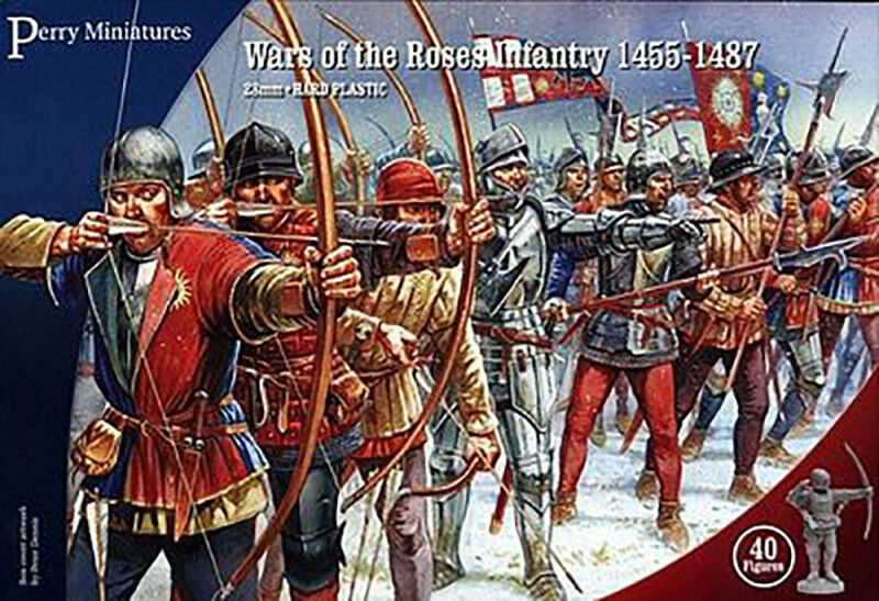 Perry Miniatures  WR001 28mm Wars of the pinks Infantry 1455-1487