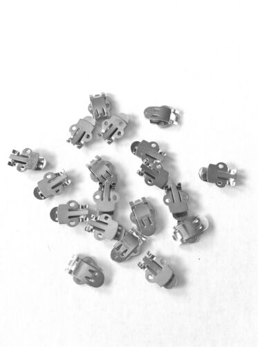 100 Shoe Clip Hardware Blanks Free Shipping to U.S.
