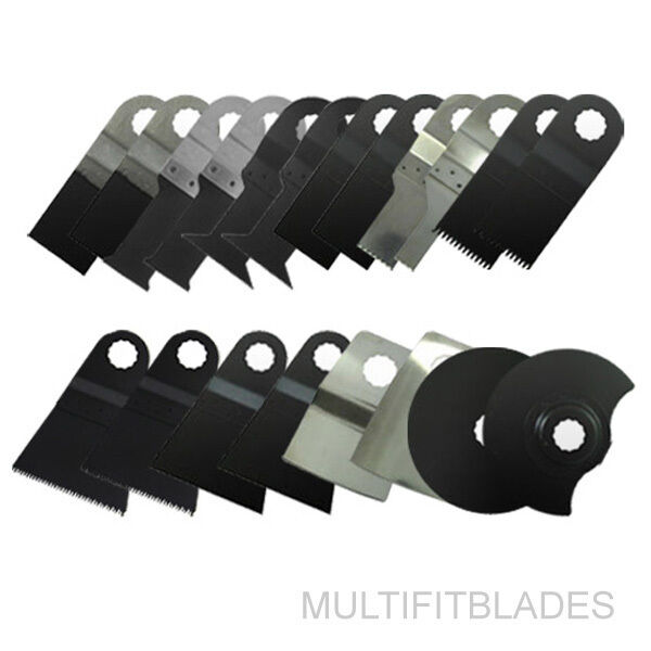 20pc Oscillating Tool Blades Kit - Ryobi Job Plus Compatible