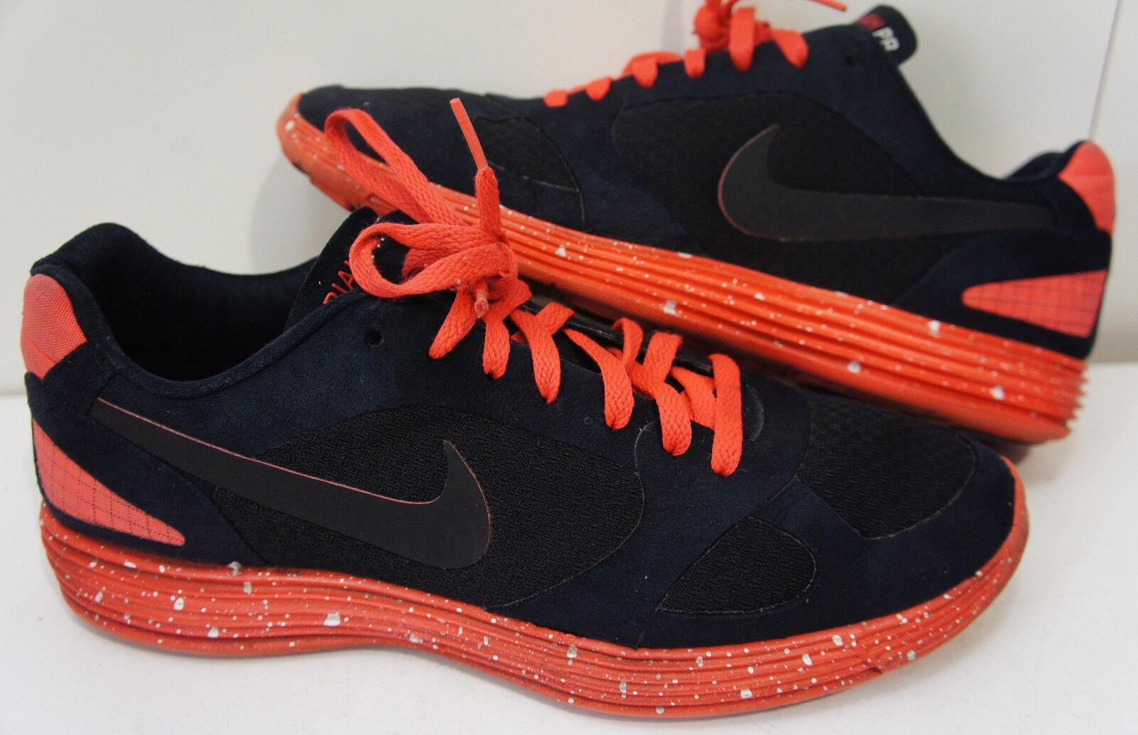 2009 Nike Lunar lunarlon Mariah PR TZ Hot Red Black Lava 369187-003 SZ 11