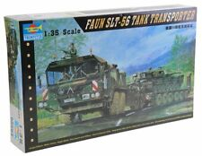 German Faun Elephant Slt-56 Panzer Transport 1:35 Plastic Model Kit TRUMPETER