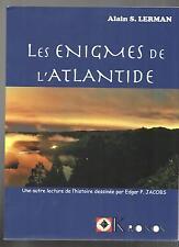 Alain S. LERMAN. Les Enigmes de l'Atlantide. KRONOS 2013-  E.P. JACOBS