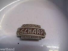 Emblem  Steuerkopfschild    für Oldtimer Fahrrad Original Scharp Weissenburg / B