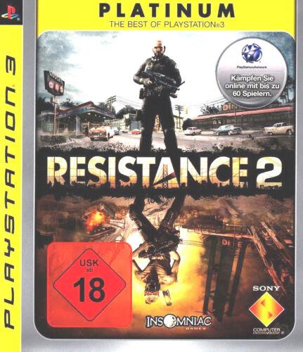 1 von 1 - PS3 / Sony Playstation 3 Spiel - Resistance 2 (Platinum)(mit OVP)(USK18) NEUWARE