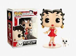 Funko-Pop-Animation-Betty-Boop-Betty-Boop-amp-Pudgy-Vinyl-Figure-Item-33432