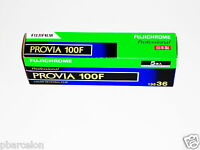 5 X Rolls Fuji Provia 100f Colour Slide Film--35mm/36 Exps--expiry: 07/2018