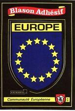 carte Kroma écusson EUROPE adhésif pour camping car, collection blason sticker