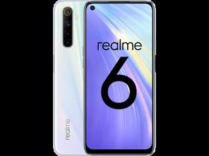 REALME 6 128GB+4GB RAM 6,5'' 64MP SMARTPHONE TELÉFONO MÓVIL LIBRE BLANCO 4G