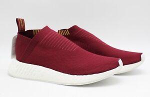 f697825c9 Adidas x SNS Sneaker N Stuff NMD CS2 PK  Class of 99  Burgundy ...